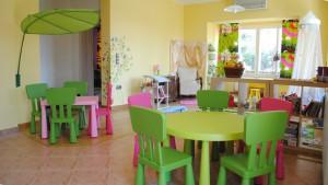 Étkező és foglalkoztató szobánk